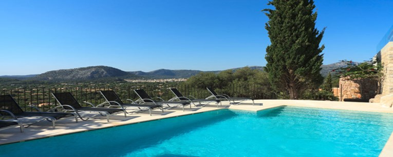 Villa In La Font Pollensa With Stunning Views - AH2296