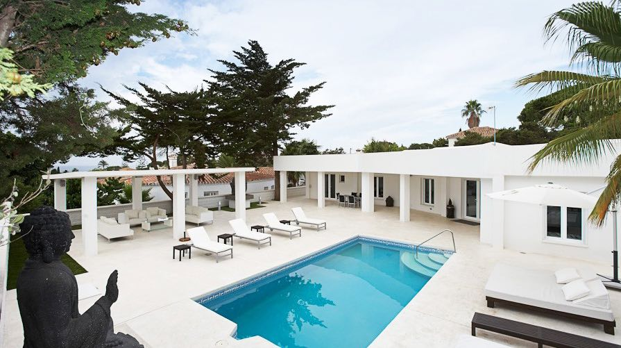 AH2783 - Modern 4 bed Villa 250 m from the beach Marbesa Nikki Beach