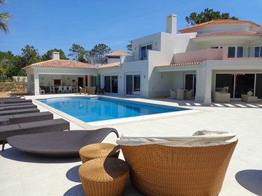 Monte Golfe Luxury Villa Pool