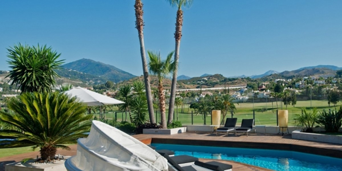 Modern Luxury Villa With Heated Pool In Nueva Andalucia