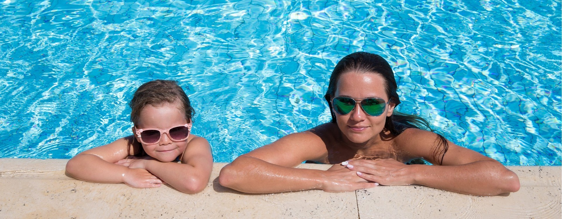 Mother And Daughter Pool