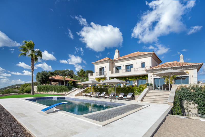 Great Luxury 6 Bed Villa In Countryside With Sea Views U0026 Tennis Court