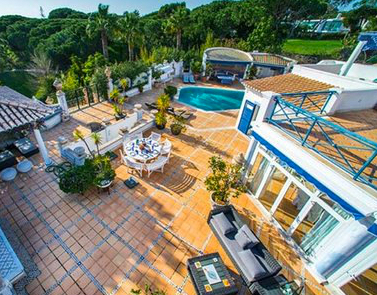 AH2883 - Large 5 Bed Villa Vale Do Lobo With Private Tennis Court