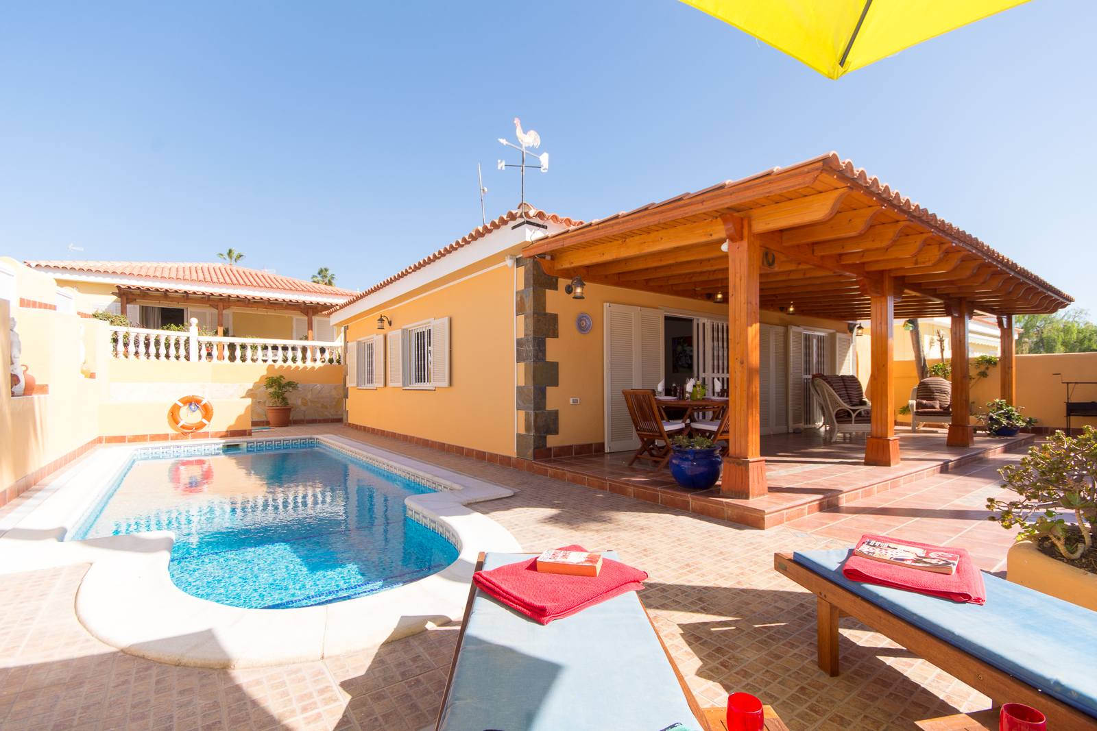 AH2898 - Lovely 3 Bed Callao Salvaje Villa With Air Con and Heated Pool
