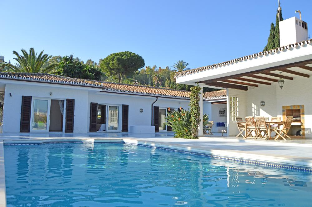 AH2984 - Elegant 5 Bed Nueva Andalucia Villa With Golf Views & Heated Private Pool