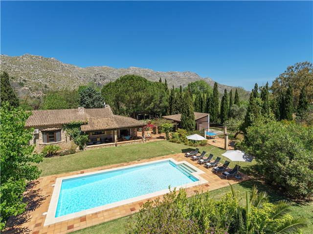 AH2843 - Lovely 3 Bed La Font Pollensa Villa With Heated Pool