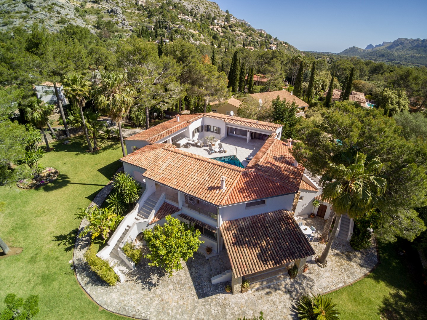 AH2995 - Stylish Luxury 4 Bed Villa La Font Pollensa