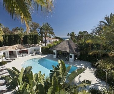 AH2469 - Stunning Beach Villa On Golden Mile Marbella