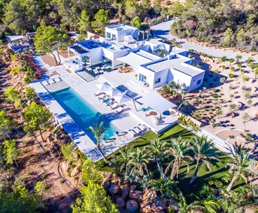 AH2903 - Modern 5 Bed Villa With Sea Views In Cala Tarida