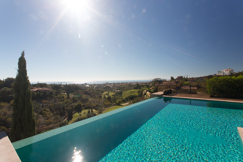 AH2676 - Luxury 5 Bed Los Flamingos Villa With Sea Views